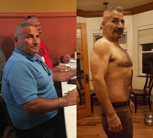 Rocco Before & After